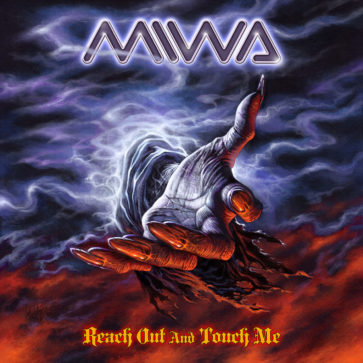 MIWA - Reach Out And Touch Me - EP - Album Cover - Featuring Miwa - Sean Lee- Chris Slade - Billy Sheehan - Mitch Perry